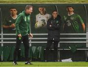 12 October 2018; Republic of Ireland manager Martin O'Neill during a Republic of Ireland training session at the FAI National Training Centre in Abbotstown, Dublin. Photo by Stephen McCarthy/Sportsfile