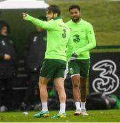 12 October 2018; Harry Arter during a Republic of Ireland training session at the FAI National Training Centre in Abbotstown, Dublin. Photo by Stephen McCarthy/Sportsfile