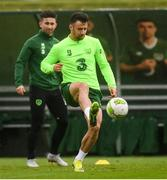 12 October 2018; Enda Stevens during a Republic of Ireland training session at the FAI National Training Centre in Abbotstown, Dublin. Photo by Stephen McCarthy/Sportsfile