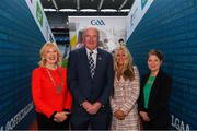 12 October 2018; Uachtarán Chumann Lúthchleas Gael John Horan with, from left, Mary Keane, President of National Association Principals and Deputy Principals, Ciara O'Donnell, Director PDST, and Yvonne McKenna, CEO Gaisce, at the GAA/PDST Future Leaders TY Programme Launch at Croke Park in Dublin. Photo by Piaras Ó Mídheach/Sportsfile