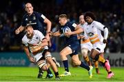 12 October 2018; Jordan Larmour of Leinster during the Heineken Champions Cup Pool 1 Round 1 match between Leinster and Wasps at the RDS Arena in Dublin. Photo by Matt Browne/Sportsfile