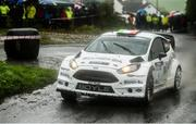 13 October 2018; Declan Boyle and James O'Reilly in their Ford Fiesta WRC during Stage 5 of the Jackson's Hotel Harvest Stages Rally during Round 7 of the 2018 National Rally Championship at Ballybofey, Co Donegal. Photo by Philip Fitzpatrick/Sportsfile