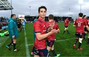 13 October 2018; Joey Carbery of Munster after the Heineken Champions Cup Pool 2 Round 1 match between Exeter Chiefs and Munster at Sandy Park in Exeter, England. Photo by Brendan Moran/Sportsfile