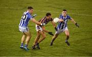 13 October 2018; Craig Dias of Kilmacud Crokes in action against Donogh McCabe, left, and Ross McGarry of Ballyboden St Enda's during the Dublin County Senior Club Football Championship semi-final match between Ballyboden St Enda's and Kilmacud Crokes at Parnell Park in Dublin. Photo by Daire Brennan/Sportsfile