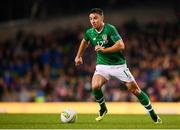 13 October 2018; Enda Stevens of Republic of Ireland during the UEFA Nations League B group four match between Republic of Ireland and Denmark at the Aviva Stadium in Dublin. Photo by Stephen McCarthy/Sportsfile