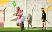 14 October 2018; Paudie O'Sullivan of Imokilly celebrates after scoring his side's second goal of the game during the Cork County Senior Hurling Championship Final between Imokilly and Midleton at Pairc Ui Chaoimh in Cork. Photo by Ramsey Cardy/Sportsfile