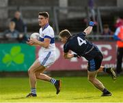 14 October 2018; Diarmuid Connolly of St. Vincents in action against Cillian O'Reilly of St. Judes during the Dublin County Senior Club Football Championship semi-final match between St. Jude's and St. VIincent's at Parnell Park, Dublin. Photo by Ray McManus/Sportsfile
