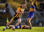 14 October 2018; Stuart Lowndes of St Peter's Dunboyne celebrates after scoring his side's only goal during the Meath County Senior Club Football Championship Final match between St Peter's Dunboyne and Summerhill at Páirc Tailteann in Navan, Meath. Photo by Brendan Moran/Sportsfile