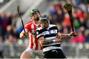 14 October 2018; Luke Dineen of Midleton in action against Seamus Harnedy of Imokilly during the Cork County Senior Hurling Championship Final between Imokilly and Midleton at Pairc Ui Chaoimh in Cork. Photo by Ramsey Cardy/Sportsfile