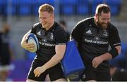 15 October 2018; James Tracy, left, and Michael Bent during Leinster Rugby squad training at Energia Park in Donnybrook, Dublin. Photo by Ramsey Cardy/Sportsfile