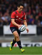 13 October 2018; Joey Carbery of Munster during the Heineken Champions Cup Round Pool 2 Round 1 match between Exeter and Munster at Sandy Park in Exeter, England. Photo by Brendan Moran/Sportsfile