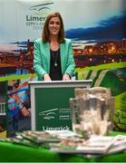 16 October 2018; Laura Ryan, Head of Communications and Marketing, Limerick City and County Council, during the launch of the Limerick celebration book 'Treaty Triumph', a stunning photographic memoir, with words by Damian Lawlor, that paints a vivid picture of Limerick's magical odyssey to the hurling summit. Limerick City and County Council supports the book in aid of Limerick GAA to keep price at just €19.95. Limerick City and County Council, Merchants Quay, Limerick. Photo by Diarmuid Greene/Sportsfile