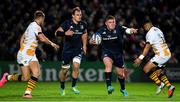 12 October 2018; Tadhg Furlong of Leinster in action against Josh Bassett and Lima Sopoaga of Wasps during the Heineken Champions Cup Pool 1 Round 1 match between Leinster and Wasps at the RDS Arena in Dublin. Photo by Brendan Moran/Sportsfile