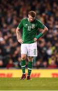 16 October 2018; James McClean of Republic of Ireland during the UEFA Nations League B group four match between Republic of Ireland and Wales at the Aviva Stadium in Dublin. Photo by Stephen McCarthy/Sportsfile