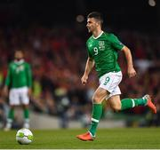 16 October 2018; Shane Long of Republic of Ireland during the UEFA Nations League B group four match between Republic of Ireland and Wales at the Aviva Stadium in Dublin. Photo by Seb Daly/Sportsfile