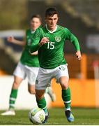 16 October 2018; Jason Knight of Republic of Ireland during the 2018/19 UEFA Under-19 European Championships Qualifying Round match between Republic of Ireland and Netherlands at City Calling Stadium, in Lissanurlan, Co. Longford. Photo by Harry Murphy/Sportsfile