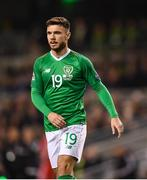 16 October 2018; Scott Hogan of Republic of Ireland during the UEFA Nations League B group four match between Republic of Ireland and Wales at the Aviva Stadium in Dublin. Photo by Harry Murphy/Sportsfile