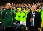 16 October 2018; Republic of Ireland manager Martin O'Neill during the UEFA Nations League B group four match between Republic of Ireland and Wales at the Aviva Stadium in Dublin. Photo by Stephen McCarthy/Sportsfile