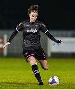 17 October 2018; Lauren Dwyer of Wexford Youths during the Continental Tyres FAI Women's Cup Semi-Final match between Wexford Youths and UCD Waves at Ferrycarrig Park, in Wexford. Photo by Matt Browne/Sportsfile