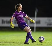 17 October 2018; Ciamh Dollard of Wexford Youths during the Continental Tyres FAI Women's Cup Semi-Final match between Wexford Youths and UCD Waves at Ferrycarrig Park, in Wexford. Photo by Matt Browne/Sportsfile