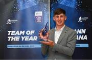 19 October 2018; Tipperary's Ger Browne was named the Bord Gáis Energy GAA Player of the Year at the annual Team of the Year Awards held at Dublin's City Hall tonight. The Knockavilla-Donaskeigh Kickhams man impressed all summer at midfield for the Premier County and played a crucial role in their All-Ireland victory over Cork in August. Browne joins an illustrious list of previous Bord Gáis Energy Player of the Year awards winners which includes Limerick's Aaron Gillane (2017), Waterford's Stephen Bennett (2016) and Limerick's Richie English (2015). Photo by Piaras Ó Mídheach/Sportsfile