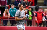 20 October 2018; Gerbrandt Grobler of Gloucester warms up prior to the Heineken Champions Cup Pool 2 Round 2 match between Munster and Gloucester at Thomond Park in Limerick. Photo by Sam Barnes/Sportsfile
