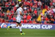 20 October 2018; Danny Cipriani of Gloucester leaves the field after receiving a red card during the Heineken Champions Cup Pool 2 Round 2 match between Munster and Gloucester at Thomond Park in Limerick. Photo by Sam Barnes/Sportsfile