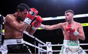 20 October 2018; Sean McComb, right, and Carlos Galindo during their super lightweight bout at TD Garden in Boston, Massachusetts, USA. Photo by Stephen McCarthy/Sportsfile