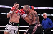 20 October 2018; Niall Kennedy, left, and Brendan Barrett during their heavyweight bout at TD Garden in Boston, Massachusetts, USA. Photo by Stephen McCarthy/Sportsfile