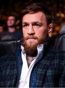 20 October 2018; UFC fighter Conor McGregor in attendance at the TD Garden for the vacant WBO Middleweight title bout between Demetrius Andrade and Walter Kautondokwa in Boston, Massachusetts, USA. Photo by Stephen McCarthy/Sportsfile