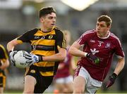 21 October 2018; Stephen Smith of Crosserlough in action against Fergal Reilly of Castlerahan during the Cavan County Senior Club Football Championship Final match between Castlerahan and Crosserlough at Kingspan Breffni Park in Cavan. Photo by Seb Daly/Sportsfile