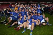 21 October 2018; The Coalisland team celebrate after winning the Tyrone County Senior Club Football Championship Final match between Coalisland Fianna and Killyclogher St Mary's at Healy Park, Omagh, in Tyrone. Photo by Philip Fitzpatrick/Sportsfile