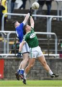 21 October 2018; Kevin Cassidy of Gaoth Dobhair in action against Jason Campbell of Naomh Conaill Glenties during the Donegal County Senior Club Football Championship Final match between Naomh Conaill Glenties and Gaoth Dobhair at MacCumhaill Park, in Ballybofey, Donegal. Photo by Oliver McVeigh/Sportsfile