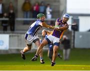 21 October 2018; Ross O'Carroll of Kilmacud Crokes in action against Paul Doherty of Ballyboden St Enda's during the Dublin County Senior Club Hurling Championship Final match between Kilmacud Crokes and Ballyboden St Enda's at Parnell Park, in Dublin. Photo by Daire Brennan/Sportsfile