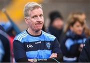 21 October 2018; Killyclogher manager Dominic Corrigan during the Tyrone County Senior Club Football Championship Final match between Coalisland Fianna and Killyclogher St Mary's at Healy Park, Omagh, in Tyrone. Photo by Philip Fitzpatrick/Sportsfile
