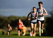 21 October 2018; Michael Morgan of Sligo A.C. Co. Sligo, competing in the Male U20's during the Autumn Open International Cross Country Festival at the National Sports Campus in Abbottstown, Dublin. Photo by Harry Murphy/Sportsfile