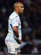 20 October 2018; Simon Zebo of Racing 92 during the Heineken Champions Cup Round Pool 4 Round 2 between Racing 92 and Ulster at Paris La Defence Arena, in Paris, France. Photo by Brendan Moran/Sportsfile