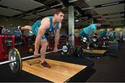 22 October 2018; CJ Stander and Tadhg Beirne during Munster Rugby squad training at the University of Limerick in Limerick. Photo by Diarmuid Greene/Sportsfile