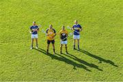 22 October 2018; Kilkenny goalkeeper Eoin Murphy, second from left, with former Tipperary players from left, Paddy Stapleton, Brendan Cummins, and Lar Corbett, at the launch of the Tipperary v Kilkenny: The Legends Return — a benefit match for Amanda Stapleton. Henry Shefflin, Tommy Walsh, Lar Corbett, Eoin Kelly and a host of current stars will line out for this fantastic cause on November 3rd in Borrisoleigh GAA, Co Tipperary — get your adults tickets for just €20 in Centra or on Tickets.ie; Under-16s are free.https://secure.tickets.ie/Listing/EventInformation/39036/amanda-stapleton-benefit-match-tipperary-v-kilkenny-bishop-quinlan-park-3-November-2018 during an Amanda Stapleton Benefit Match media event at Borrisoleigh GAA Club in Borrisoleigh, Tipperary. Photo by Piaras Ó Mídheach/Sportsfile