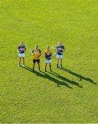 22 October 2018; Kilkenny goalkeeper Eoin Murphy, second from left, with former Tipperary players from left, Paddy Stapleton, Brendan Cummins, and Lar Corbett, at the launch of the Tipperary v Kilkenny: The Legends Return — a benefit match for Amanda Stapleton. Henry Shefflin, Tommy Walsh, Lar Corbett, Eoin Kelly and a host of current stars will line out for this fantastic cause on November 3rd in Borrisoleigh GAA, Co Tipperary — get your adults tickets for just €20 in Centra or on Tickets.ie; Under-16s are free. https://secure.tickets.ie/Listing/EventInformation/39036/amanda-stapleton-benefit-match-tipperary-v-kilkenny-bishop-quinlan-park-3-November-2018 Photo by Piaras Ó Mídheach/Sportsfile