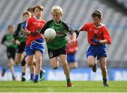23 October 2018; Rory Owens from St. Mary's BNS, Lucan, Co Dublin, in action against Gavin Lynch from Belgrove Senior BNS, Clontarf, Co Dublin, during day 2 of the Allianz Cumann na mBunscol Finals at Croke Park in Dublin. Photo by Harry Murphy/Sportsfile