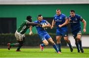 27 October 2018; Rob Kearney of Leinster is tackled by Derrick Appiah of Benetton during the Guinness PRO14 Round 7 match between Benetton and Leinster at Stadio Comunale Di Monigo in Treviso, Italy. Photo by Sam Barnes/Sportsfile