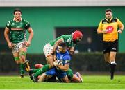 27 October 2018; Rob Kearney of Leinster is tackled by Hame Faiva of Benetton during the Guinness PRO14 Round 7 match between Benetton and Leinster at Stadio Comunale Di Monigo in Treviso, Italy. Photo by Sam Barnes/Sportsfile