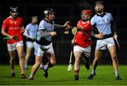 27 October 2018; Denis Moloney of Doon in action against Kevin Downes of Na Piarsaigh during the Limerick County Senior Club Hurling Championship Final match between Na Piarsaigh and Doon at the Gaelic Grounds in Limerick. Photo by Brendan Moran/Sportsfile