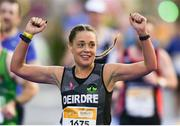 28 October2018; Deirdre Keena from Westmeath, Ireland, on her way to finishing the 2018 SSE Airtricity Dublin Marathon. 20,000 runners took to the Fitzwilliam Square start line to participate in the 39th running of the SSE Airtricity Dublin Marathon, making it the fifth largest marathon in Europe. Photo by Eóin Noonan/Sportsfile