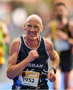 28 October 2018; Brendan Brett from Sligo, Ireland, on his way to finishing the 2018 SSE Airtricity Dublin Marathon. 20,000 runners took to the Fitzwilliam Square start line to participate in the 39th running of the SSE Airtricity Dublin Marathon, making it the fifth largest marathon in Europe. Photo by Eóin Noonan/Sportsfile
