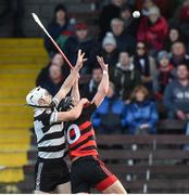 28 October 2018; Pauric Mahony of Ballygunner in action against Sean O'Leary-Hayes of Midleton during the AIB Munster GAA Hurling Senior Club Championship quarter-final match between Ballygunner and Midleton at Walsh Park in Waterford. Photo by Matt Browne/Sportsfile