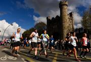 28 October 2018; A general view of runners passing through Kilmainham during the 2018 SSE Airtricity Dublin Marathon. 20,000 runners took to the Fitzwilliam Square start line to participate in the 39th running of the SSE Airtricity Dublin Marathon, making it the fifth largest marathon in Europe. Photo by Sam Barnes/Sportsfile