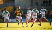 28 October 2018; Kevin Blanchfield of Bennettsbridge escapes the attention of Ballyhale Shamrocks players, from left, Ronan Corcoran, Adrian Mullen, Evan Shefflin and Brian Cody during the Kilkenny County Senior Club Hurling Championship Final between Bennettsbridge and Ballyhale Shamrocks at Nowlan Park in Kilkenny. Photo by Stephen McCarthy/Sportsfile