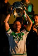 28 October 2018; Ballyhale Shamrocks captain Michael Fennelly lifts the cup following the Kilkenny County Senior Club Hurling Championship Final between Bennettsbridge and Ballyhale Shamrocks at Nowlan Park in Kilkenny. Photo by Stephen McCarthy/Sportsfile
